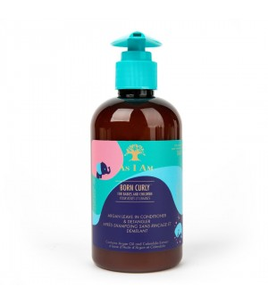 As I Am Born Curly Leave-In Conditioner & Detangler 8oz.