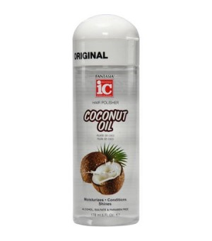 Serum Oleo de Coco IC Fantasia Hair Polisher Coconut Oil 178ml