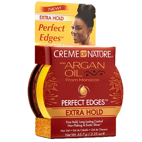 Creme of Nature Argan Oil Perfect Edges Extra Hold 64gr Haskell Detox Therapy CREME OF NATURE