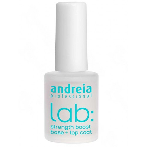 Andreia Lab Strenght Boost Base + Top Coat Fortificante 10,5ml Lab ANDREIA
