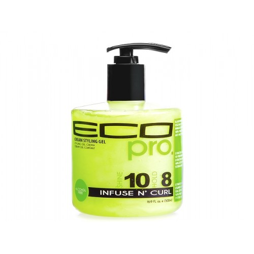 Eco Pro Styling Gel Infuse N`Curl 16oz