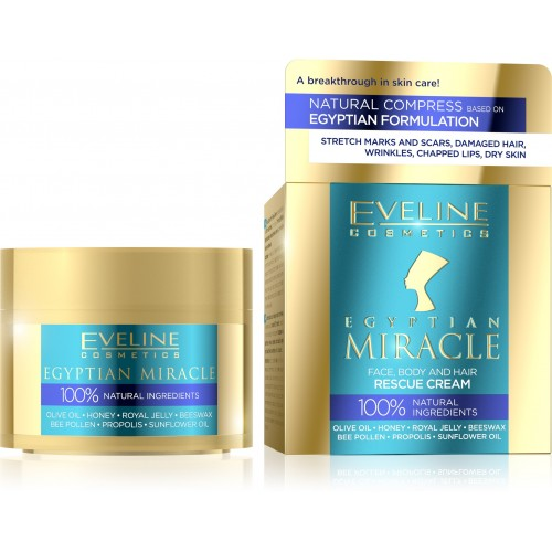 Eveline Cosmetics Egyptian Miracle Face, Body and Hair Rescue Cream 40ml