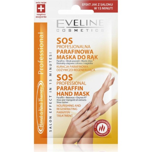 Eveline Cosmetics Hand & Nail Therapy SOS Professional Paraffin Hand Mask 7ml