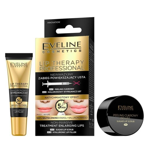 Eveline Cosmetics Lip Therapy Duo Pack Enlarging Lips