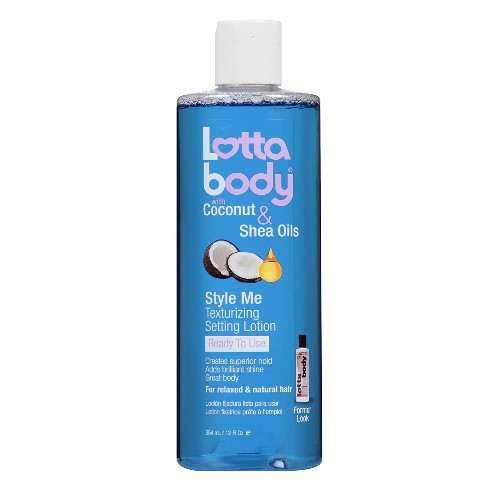 Lottabody Style Me Text Setting Lotion 354ml