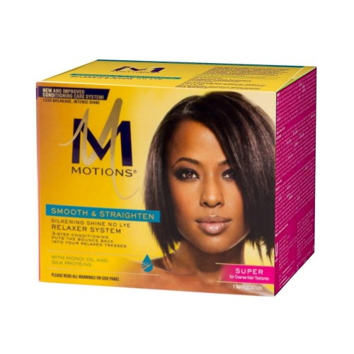 Motions Smooth & Straighten Relaxer System Kit Super