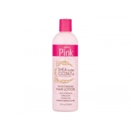 Pink Shea Butter Coconut Oil Hair Lotion 355ml