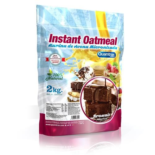 Quamtrax Gourmet Oats Meal Bag Brownie 2Kg