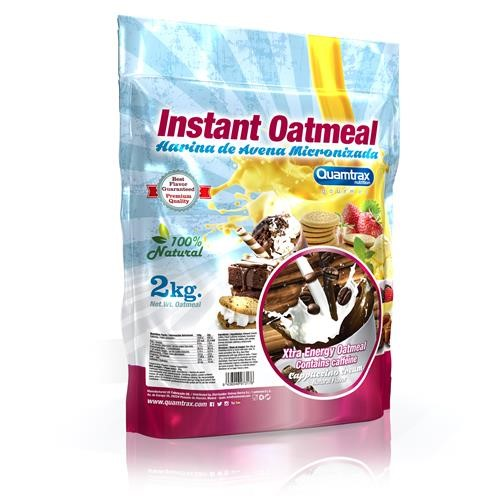 Quamtrax Gourmet Oats Meal Bag Capuccino 2Kg