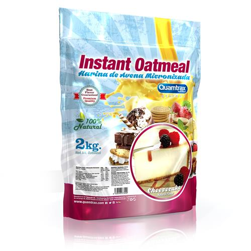 Quamtrax Gourmet Oats Meal Bag Cheese Cake 2Kg