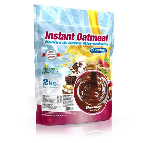 Quamtrax Gourmet Oats Meal Bag Chocolate 2Kg