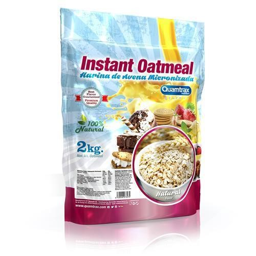 Quamtrax Gourmet Oats Meal Bag Vanilla Biscuit 2Kg