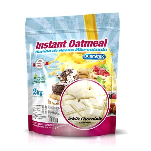 Quamtrax Gourmet Oats Meal Bag White Chocolate 2Kg