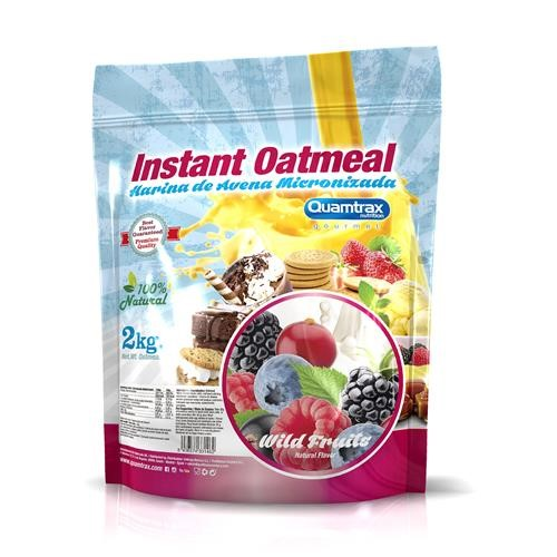 Quamtrax Gourmet Oats Meal Bag Wild Fruits 2Kg
