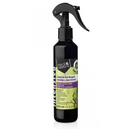 Real Natura Leave In Pro-Resgate 200ml